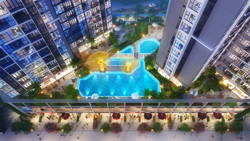 Tiện ích đẳng cấp 5 sao Eco Green Saigon