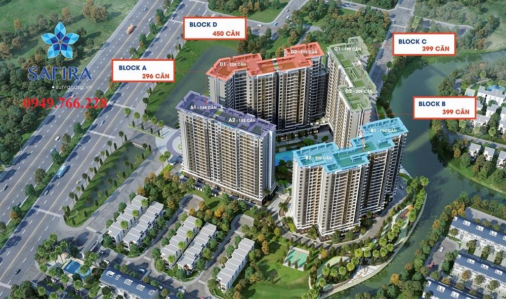 Phối cảnh dự án Safira Khang Điền