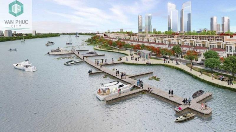 Khu đô thị Vạn Phúc - kiệt tác ven sông Sài Gòn