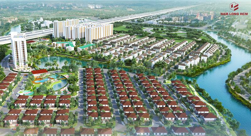Phối cảnh dự án đất nền Nam Phan