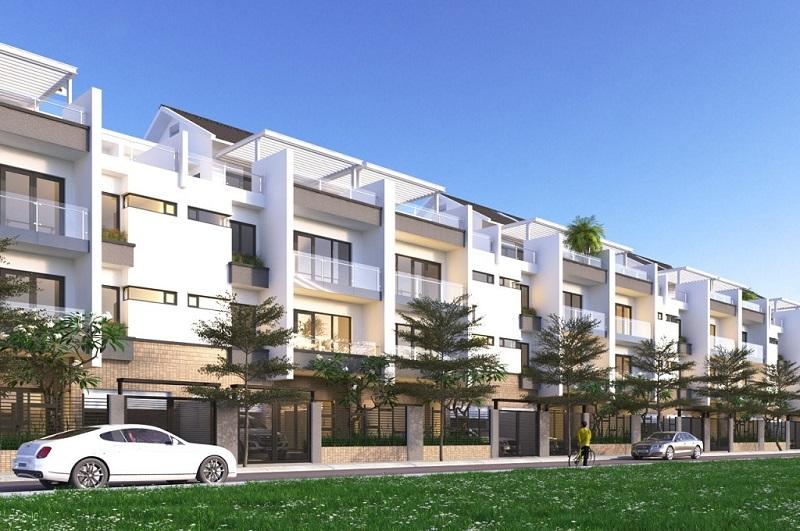 Phối cảnh nhà phố dự án Nam Phan
