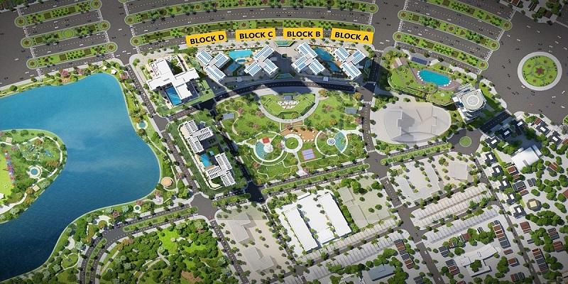 Mặt bằng tổng thể Eco Green Saigon
