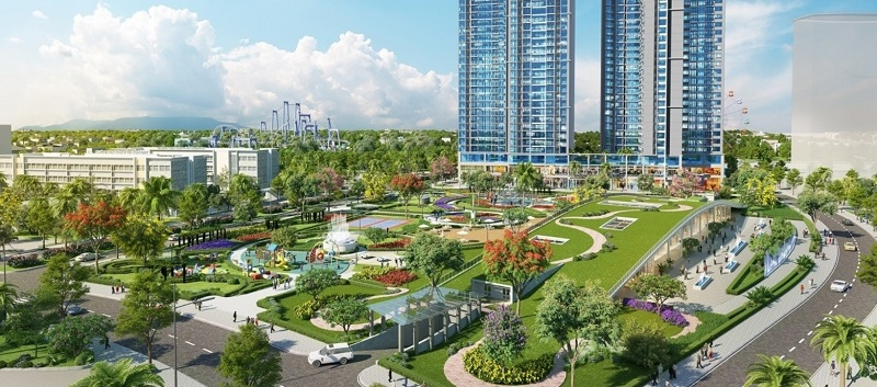 Công viên nôi khu Eco Green
