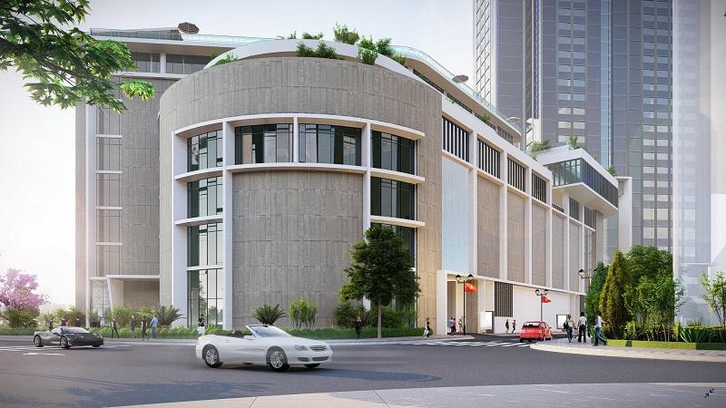 khách sạn Park hyatt và Aeon mall
