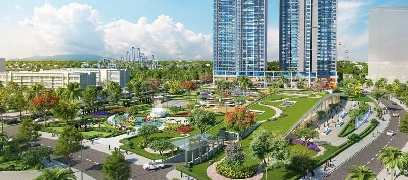Công viên dự án căn hộ Eco Green