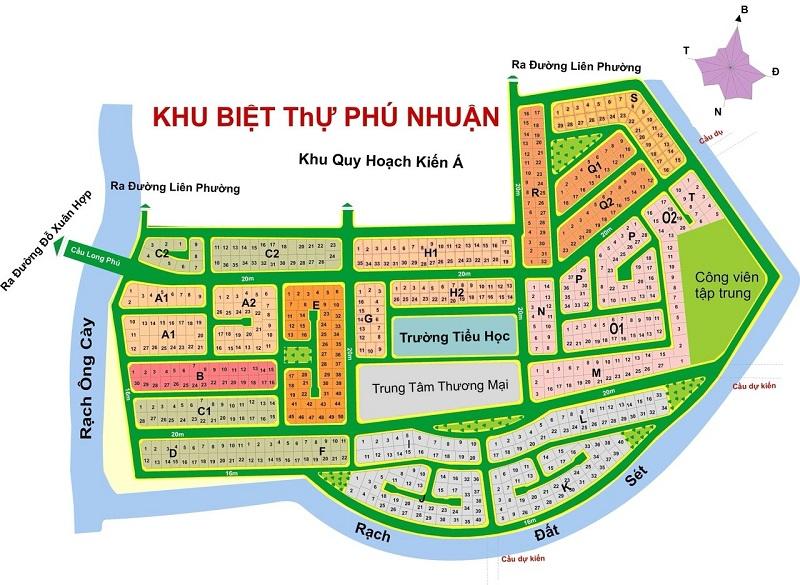 Mặt bằng đất nền Phú Nhuận quận 9