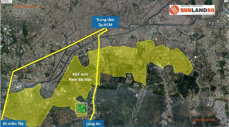 Qui hoạch tổng thể khu Nam Sài Gòn