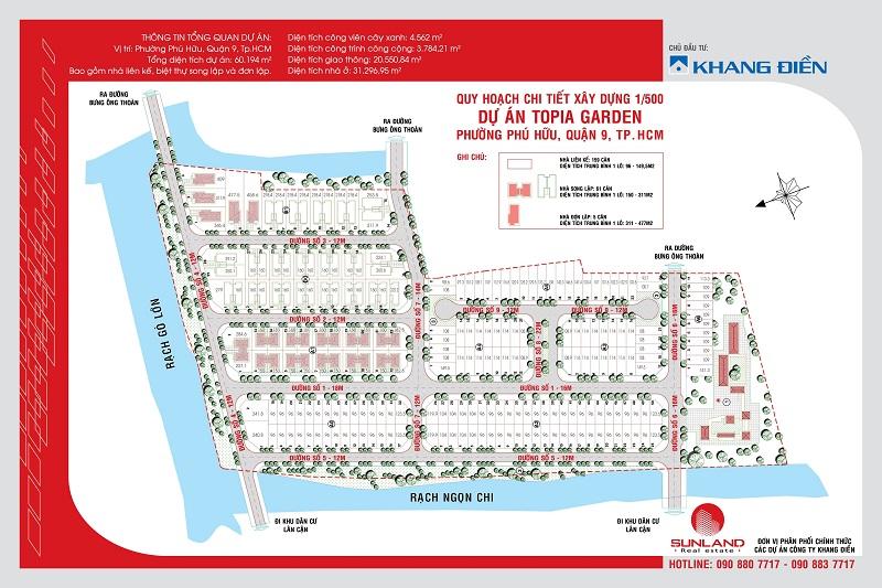 Bản đồ Topia Garden