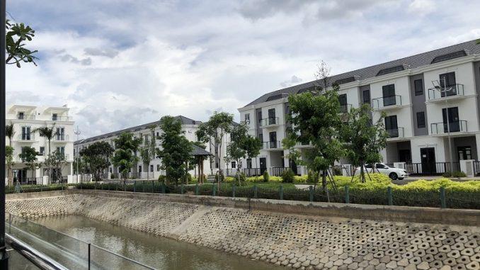 Bán nhà phố Sim City quận 9