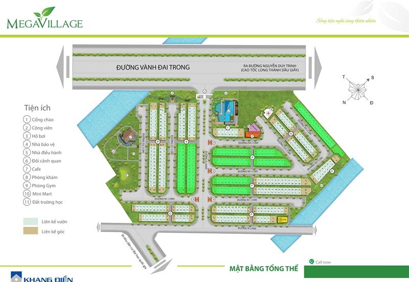Bán nhà Mega Village