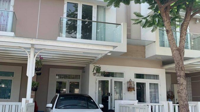 Hình ảnh thực tế nhà phố Merita Khang Điền