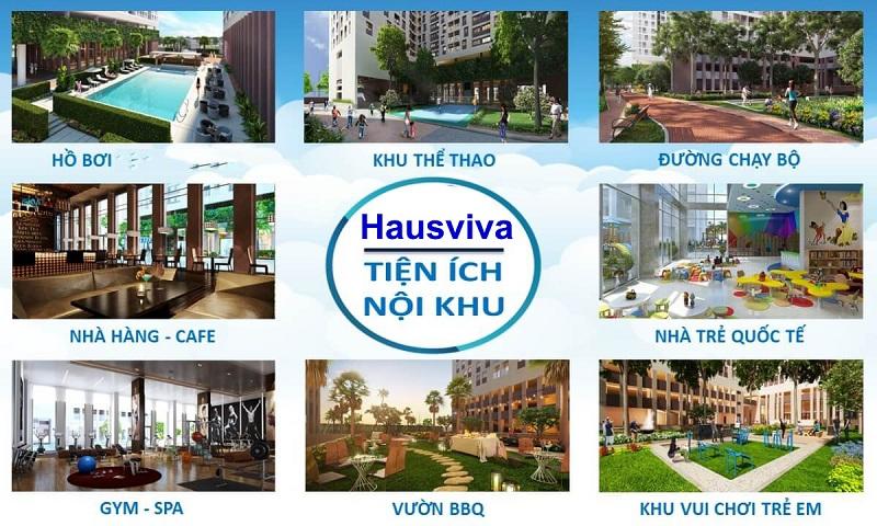 Tiện ích căn hộ HausViva