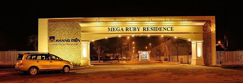Nhà phố Mega Ruby