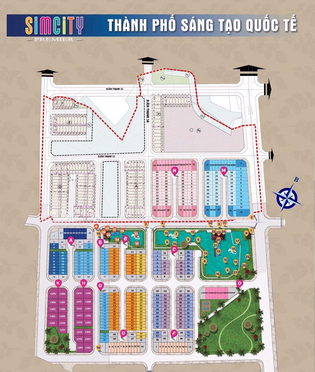 Giai đoạn 2 dự án Sim City quận 9
