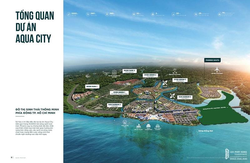 Phối cảnh Aqua City đảo Phượng Hoàng